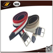 Cintos trançados de algodão para criança de dupla qualidade de alta qualidade