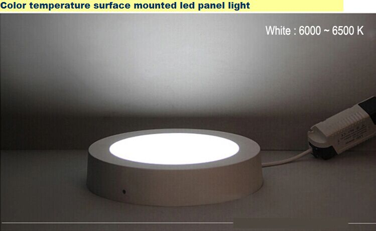 CE RoHS LED Round Panel Light
