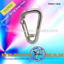 Acier inoxydable 316 Spring Marine Wire Delta Wire Snap Hook