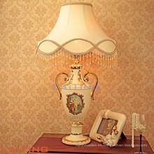 Lámpara de mesa de mármol americano para el hogar, lámpara de escritorio interior 2189