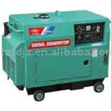 Generador diesel de poco ruido refrigerado 3kw
