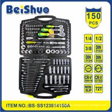 "Cheap Price 150PCS 1/2""1/4""Driver Socket Set for Car Tools"