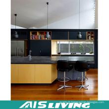 Armoire de cuisine de mélamine de meubles chauds de vente (AIS-K404)