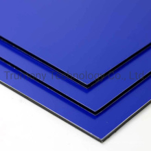 3mm 4mm Continuous PVDF Coating ACP Aluminum Composite Panel Lightweight for Building 3D Curtain Wall Cladding Decoration