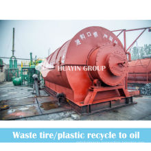 Running Plants 5/8/10T Vehicle Tyres Rubber Pyrolysis Machine To Fuel Oil With Promising Future