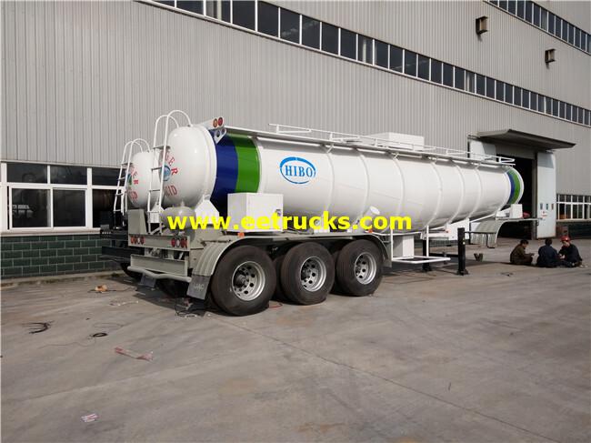 Sulfuric Acid Transport Semi-Trailers
