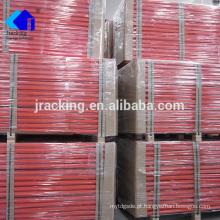 O pó de Jracking revestiu o racking seletivo de aço da pálete do armazenamento resistente do armazém