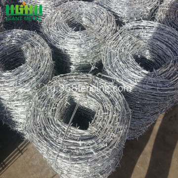 Low+Carbon+Steel+Barbed+Wire+Fence+for+Sale