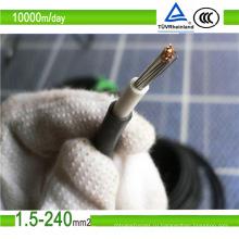 Солнечный кабель 4 мм 6 мм 10 мм фотоэлектрический кабель (1,5 2,5 4 6 10 кв. Мм)