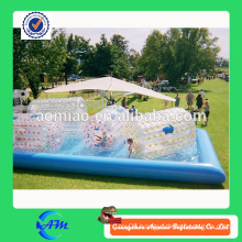 high quality 0.9mm PVC material inflatable pool for kids ball pool for sale