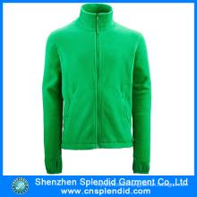Shenzhen Clothes Wholesale Green Women Fleece Jacket