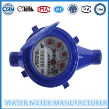 Dn15mm Multi Jet Kalte Wasserzähler von ABS Kunststoff Wasser Meter
