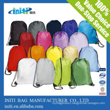 Cheap Promotional Custom Drawstring Bags No Minimum