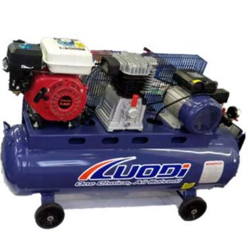 Dual-Use-Kompressor kann Benzin und elektrische Kolben verwenden