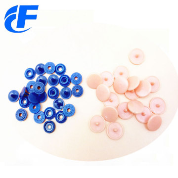 Resin Colorful Plastic Snap Button Fasteners Press Button