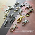 Crochet clé pour homard perle or (J13-179A)