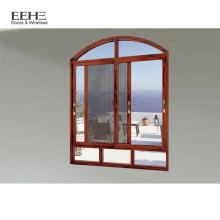 Style Kenya pour fenêtre coulissante en verre teinté bleu