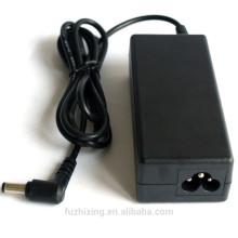 Cargador 19v 3.42a cargador de la CA del ordenador portátil de 5.5 * 2.5mm 65w para el asus