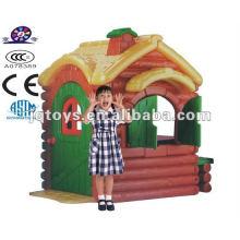 No tóxico jardín al aire libre de plástico Play House para niños de fábrica directa