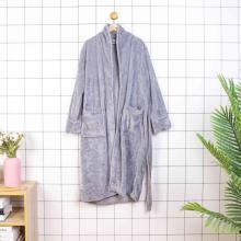 floor length hood spa black bath robe