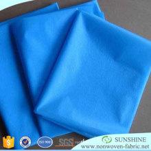 Tissu non-tissé jetable pour la fabrication de robes chirurgicales
