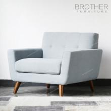 Dernière conception canapé de siège de tissu moderne de style américain