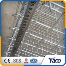 Anping factory 4mm 5mm 6mm galvanized welded gabion basket stone cage net