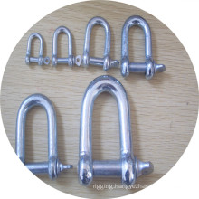 Electrical Galv. European Type Large Dee Shackle