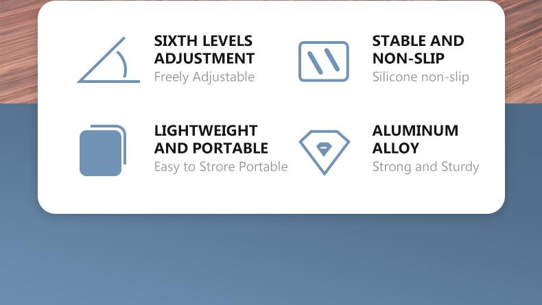 Adjustable Portable Laptop Stands