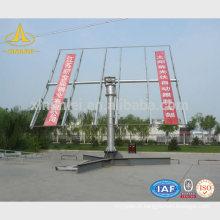 Estrutura de aço solar