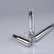 Silberne Plastikflasche mit Pumpe (NAB11)