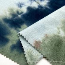 Heißer Verkauf aus 100% Baumwolle 280GSM bindungsgefärbter kleiner Schleifenstrick-French-Frottee-Stoff für Männer-T-Shirts