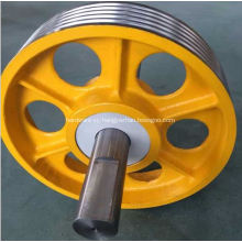Elevator Diverting Pulley Cast Iron Pulley
