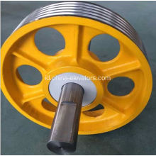 Lift Mengalihkan Pulley Cast Iron Pulley