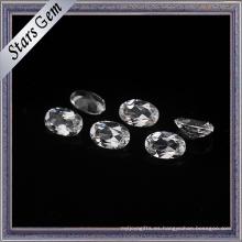 7X9mm Crystal Clear Good Quality Natural Topaz Gemstone