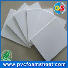 Fábrica da folha de Celuka do armário do PVC (espessura: 18mm * 1.22m * 2.44m * 0.55g / cm3)
