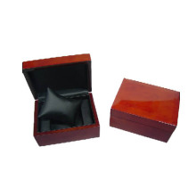 Деревянное покрытие Black Leather Pillow Watch Box (BX-WP-RB)