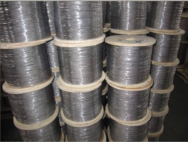 304A21.4301 3 7 X 7 mm cable de SS