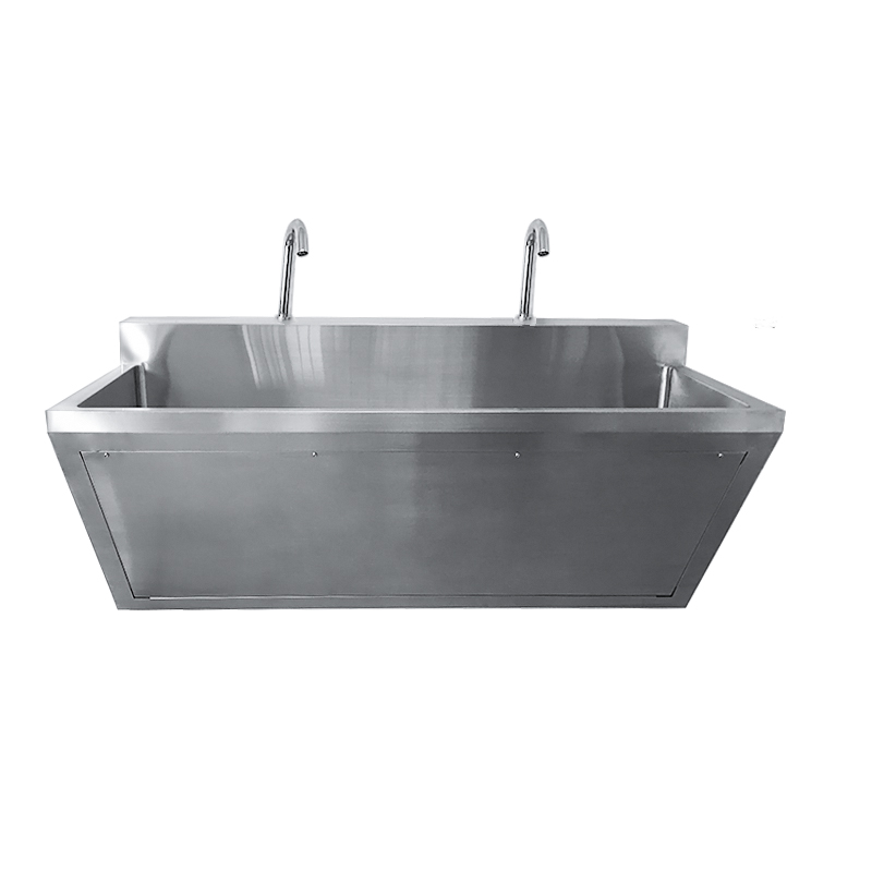Double Scrub Sink