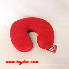 Plush Memory Foam Neck Pillow