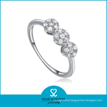 2016 Lucky Premium 925 Sterling Silver Ring for Gift (R-0085)