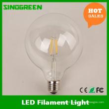 360 Degree Vintaged Ce RoHS 4W Globe G95 LED Bulb 2700k 2 Years Warranty
