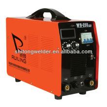 Máquina de soldadura MMA / TIG del inversor WS-250