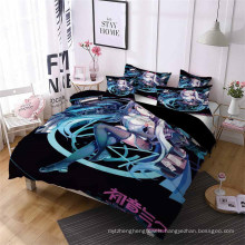 3D Printed Bedding Set with Sailor Moon, Also Suitable for Duvet Cover