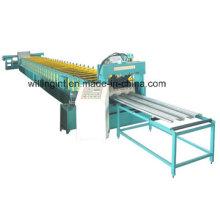 Máquina formadora de rolos de piso de chapa de aço galvanizado / linha de maquinário para painel de piso corrugado colorido