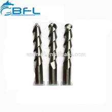 Резец карбида BFL Китая для алюминиевой фрезы конца каннелюры 3 для алюминиевого вырезывания