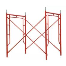 Light duty 1700x1219mm Q235 steel scaffolding ladder step frame