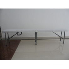6FT Portable Palstic Foliding Bench Matched with Tables for Outdoor Activity Use