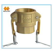 Brass Sandcasting Female BSPP Camlock Quick Couplings