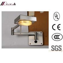 Energy Saving Rotatable Swival Arm Reading Wall Lamp
